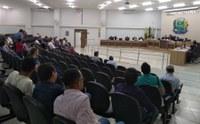 Câmara realiza 22ª sessão e vota sete projetos, além de homenagens