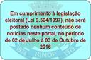 Cumprimento a Lei 9504/1997