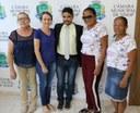 Joaninha homenageia EMEI São Francisco e pede melhorias para o Jardim das Oliveiras